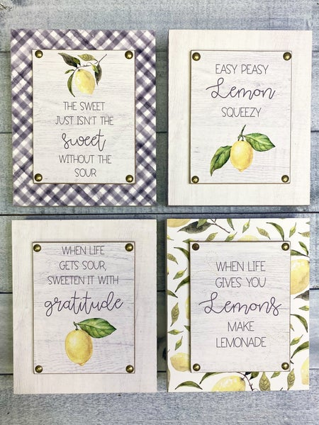 Summer Vibes Decor Signs - 4 options!