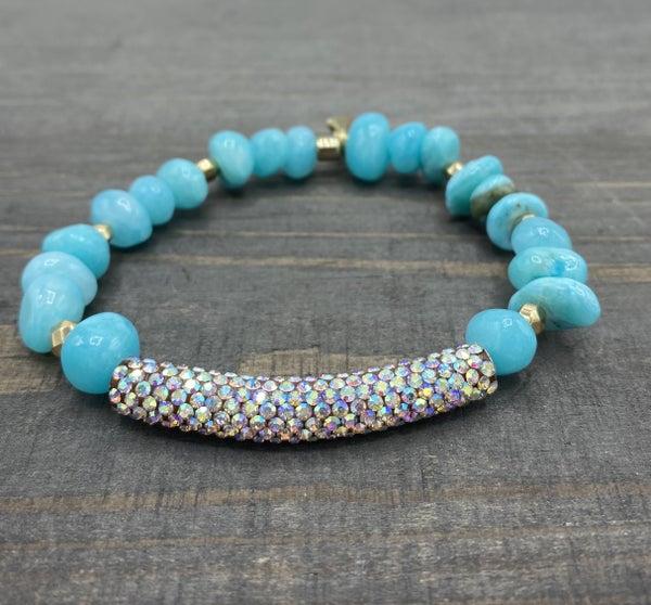 Rainbow Turquoise Erimish Bracelet