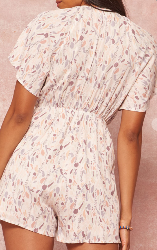 Out of my Head Romper
