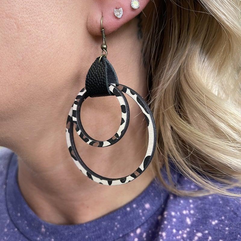 Wild Cheetah Earrings