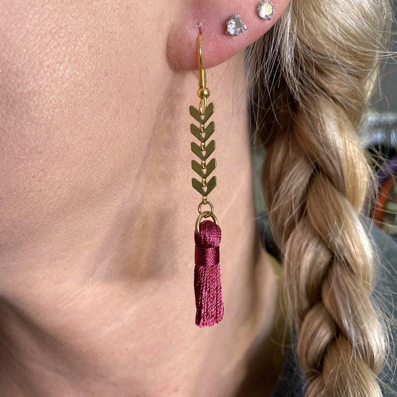 Chevron Avery Mae Exclusive Earrings