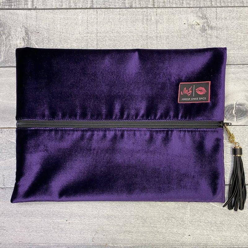 Velvet Dreams Makeup Junkie Bag