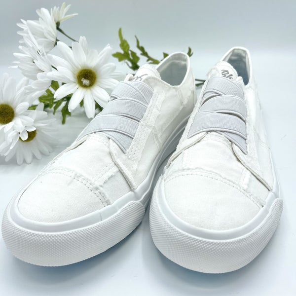 Snow White Blowfish Sneakers