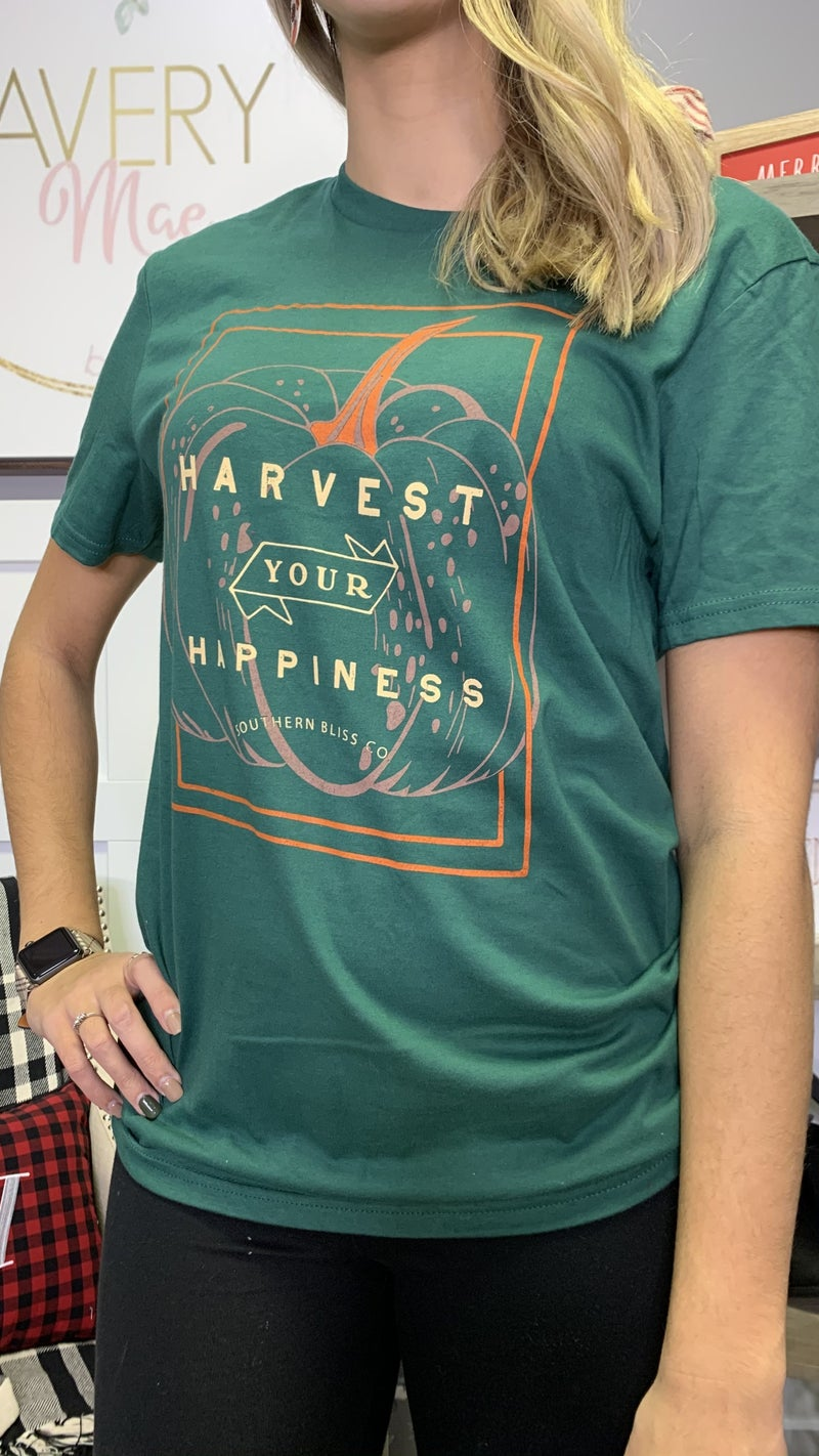 Harvest Your Happiness Southern Bliss Tee