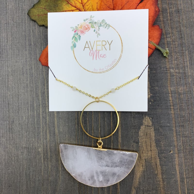 Half Moon Avery May Exclusive Necklace