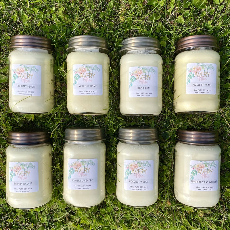 Avery Mae Exclusive Candles - 8 scents!