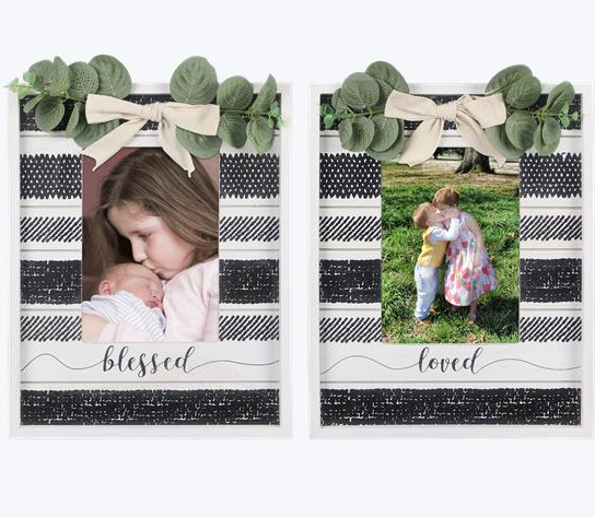The Perfect Combo 5X7 Photo Frames - 2 options!