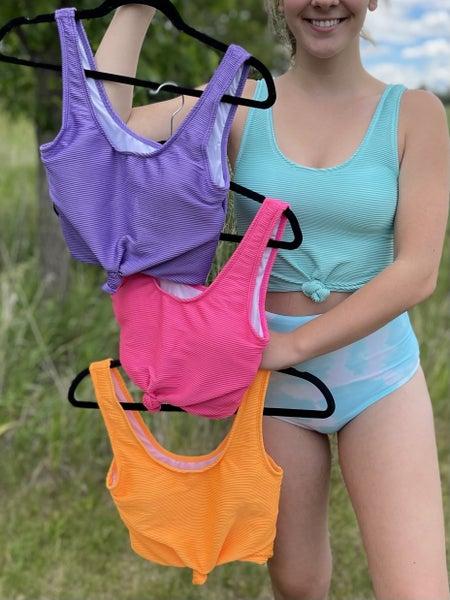 Ripple Oasis Swim Top  - 4 colors! * FINAL SALE *
