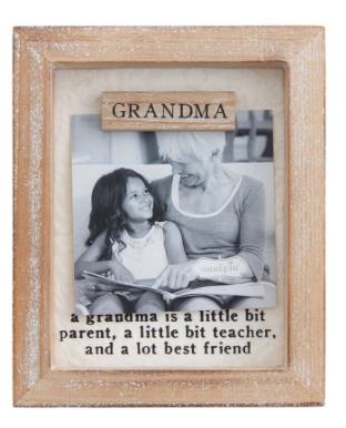 Grandma's Keepsake Magnetic Frame