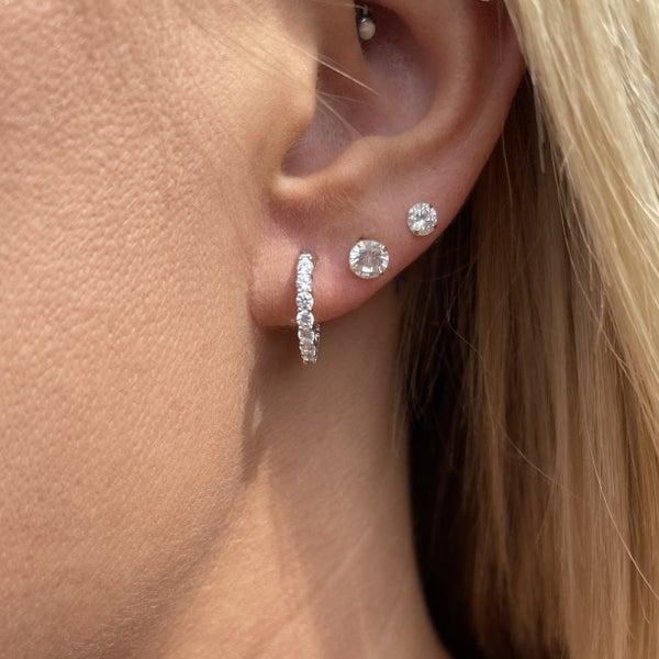 Full 360  Hoop Earrings