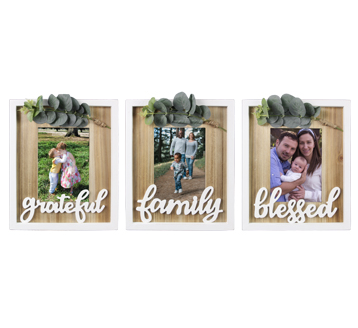 Feels like Home 5X7 Picture Frame - 3 options!