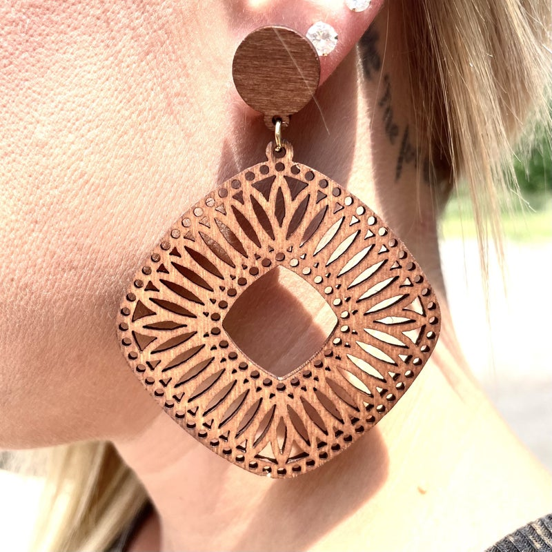 Woven in Love Earrings