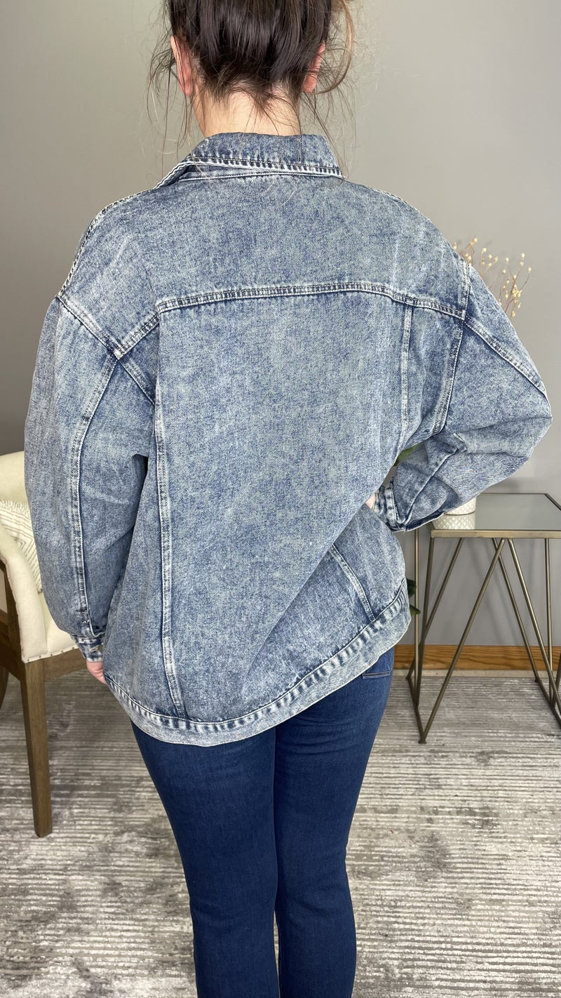 Working Woman Denim Jacket