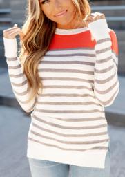 Coral Cutie Ampersand Avenue Sweater