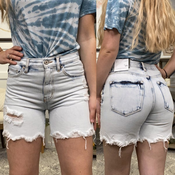 The Wren High Rise KanCan Shorts