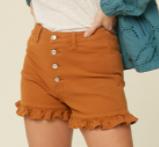 Butterscotch Lover Shorts