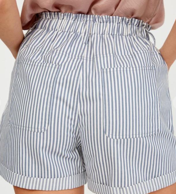Going Sailing Paperbag waist shorts