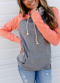 Brighten My Day Ampersand Avenue Double Hooded Sweatshirt - duplicate