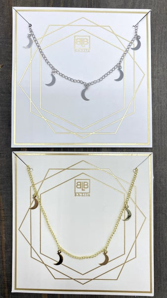 Moonlight Glow B.B Lila Necklace - 2 colors!