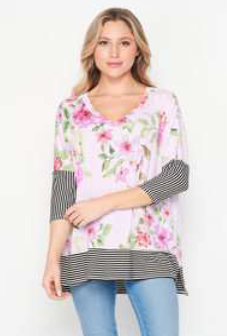 Spring In Blossom Honeyme Top