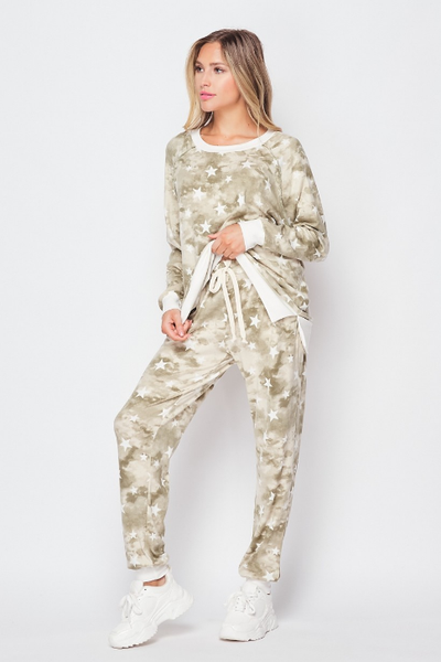 Hiding In The Stars Honeyme Jogger Set- 2 pieces!