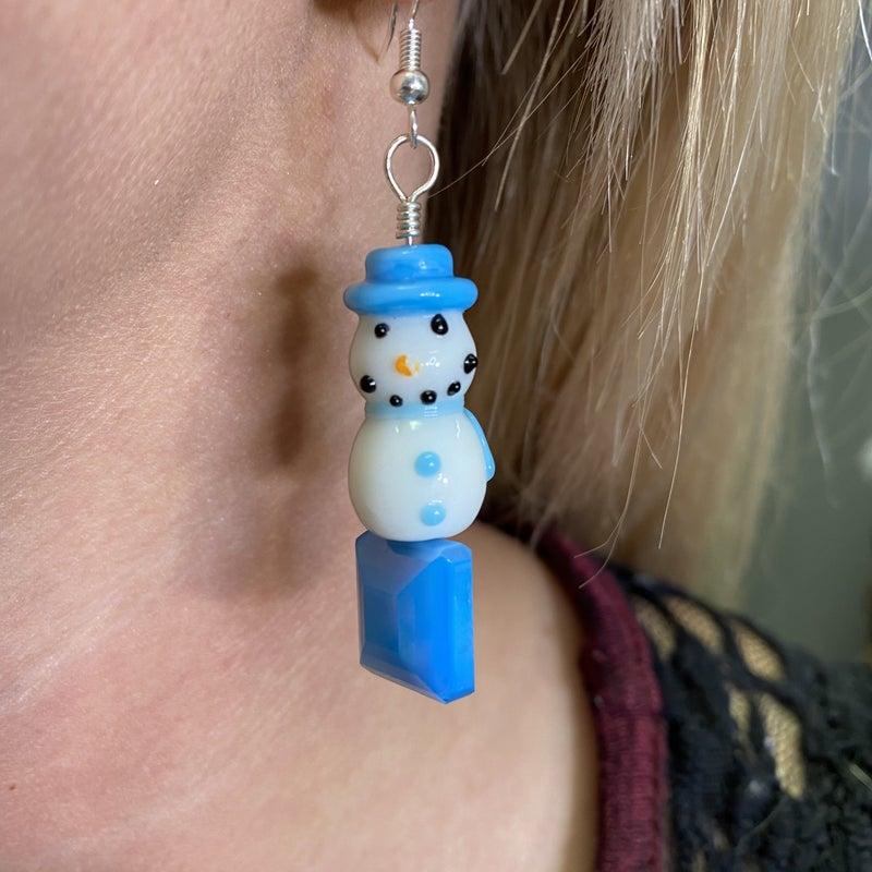 Avery Mae Exclusive Snowmen Earrings