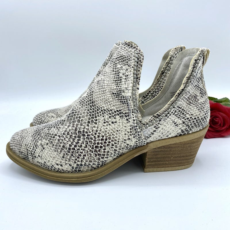 Slither Into Style Snake Booties
