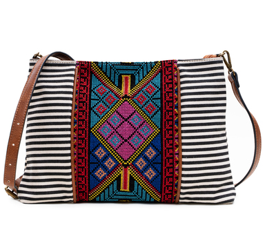 Embroidered to Perfection Crossbody