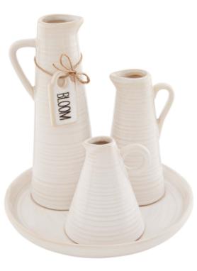 Ceramic Vase Display Set