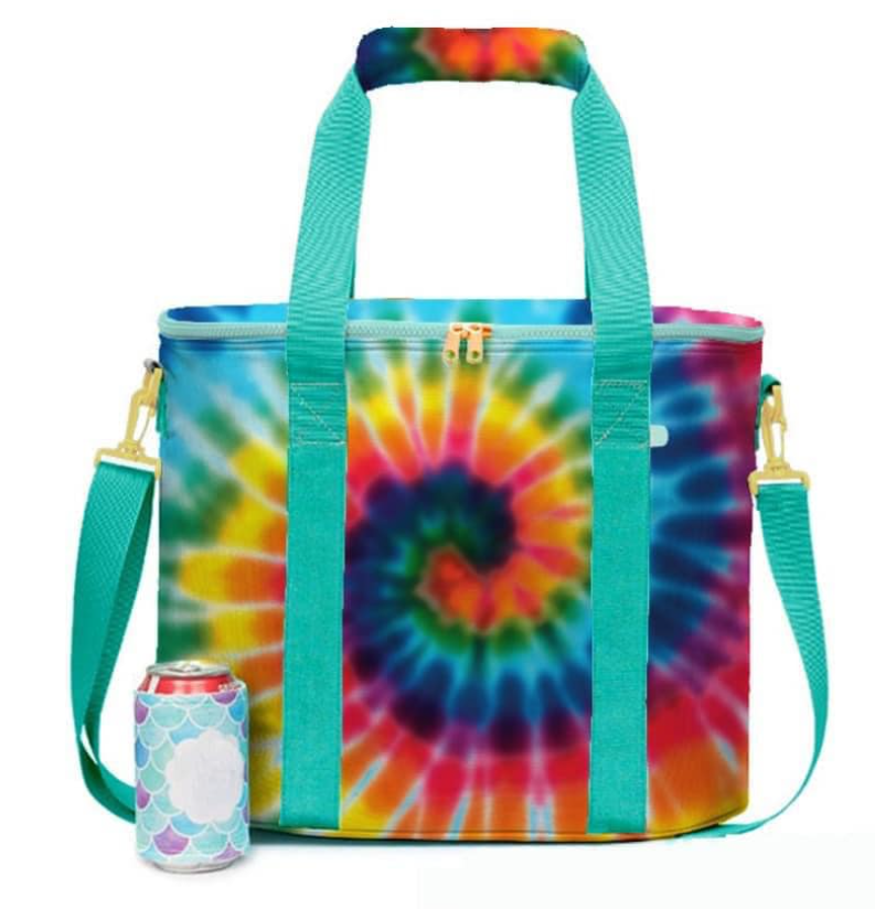 Tie Dye Insulated Cooler