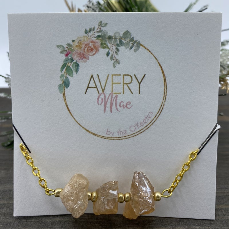 Champagne Avery Mae Exclusive Bracelet