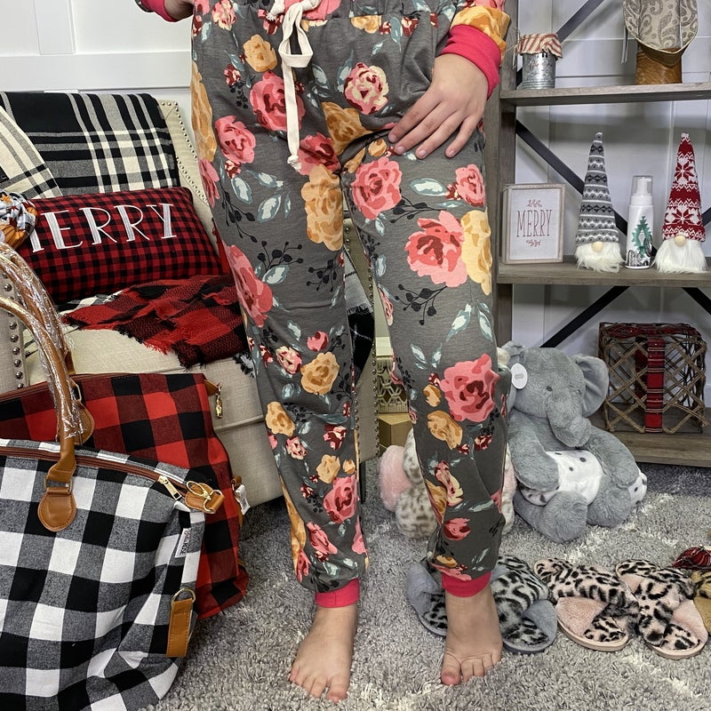 Smell The Flowers Honeyme Joggers