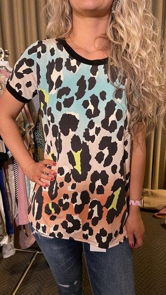 Cheetah-licious  Top