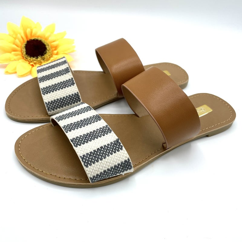 Quilted Beauty Sandals