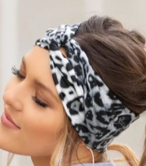 Can NOT be Tamed  Twist Headband