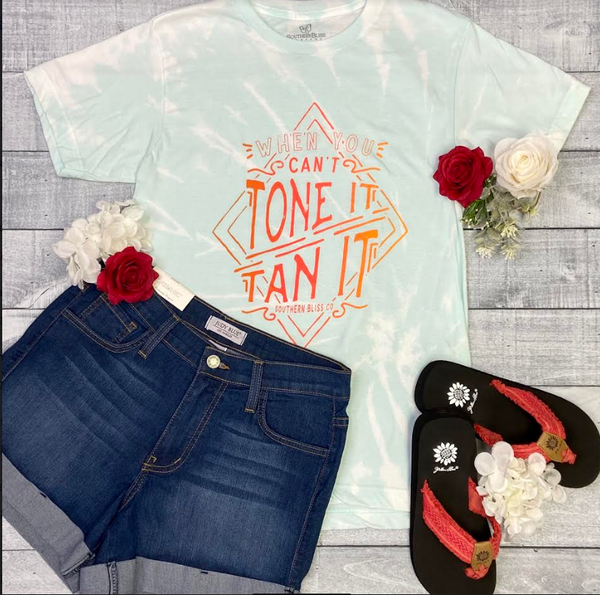 Tone It, Tan It Southern Bliss Tee