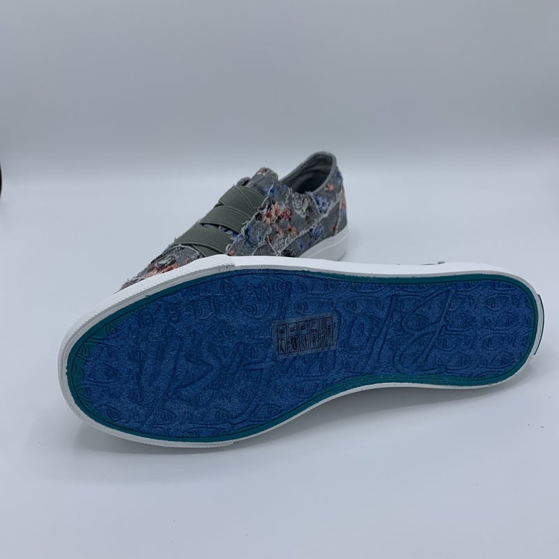 Shark Grey Floral Blowfish Tennis Shoes