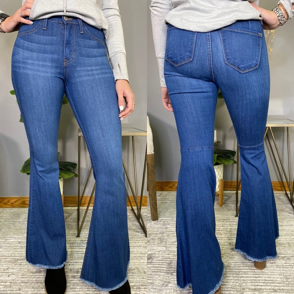 The Ultimate High Rise Judy Blue Flare Jeans