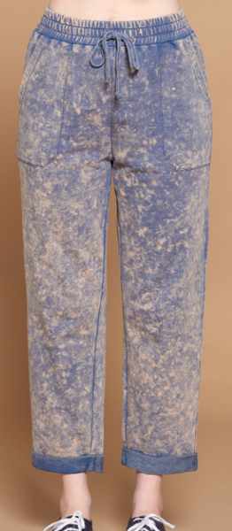 Bleached Washed Joggers