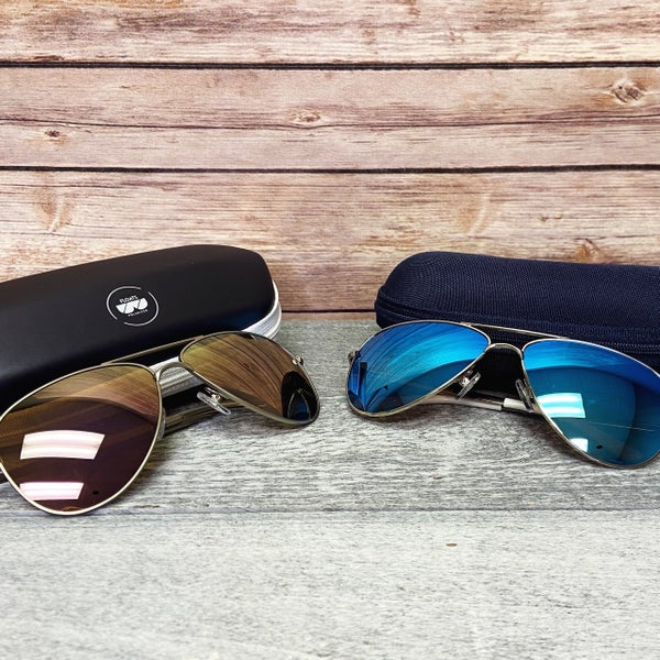 Must Have Polarized Aviator Sunglasses - 2 colors!