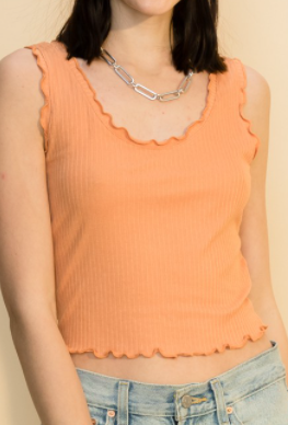 DOORBUSTER!! Like it Like That Cropped Tank - 2 colors!