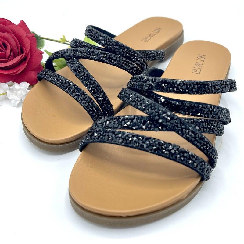 Glisten in the Night Sandal