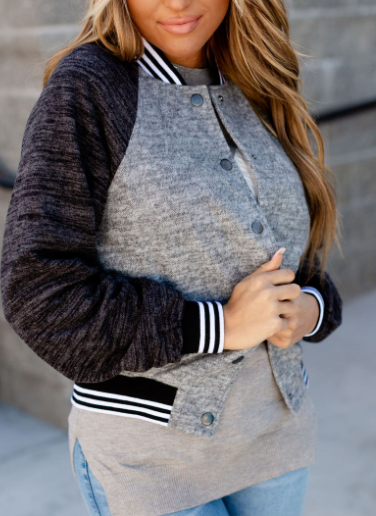 Varsity Sports Ampersand Avenue Bomber Jacket