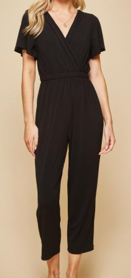 Pretty In Black Jumpsuit