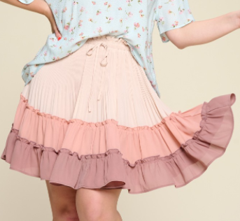 Follow me Down Skirt