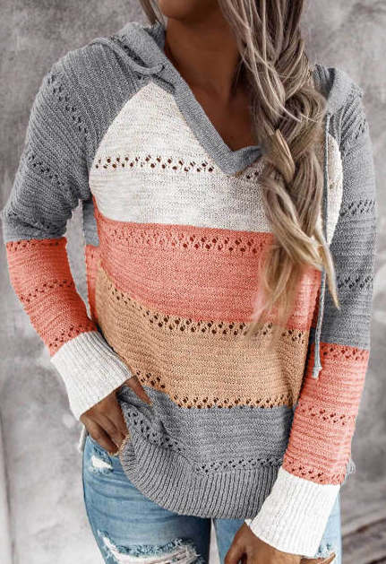 Bonfire Knitted Hoodie - 4 colors!