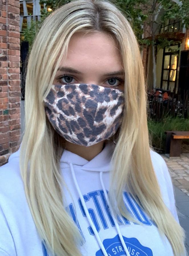 Leopard + Black Masks - 2 pack!