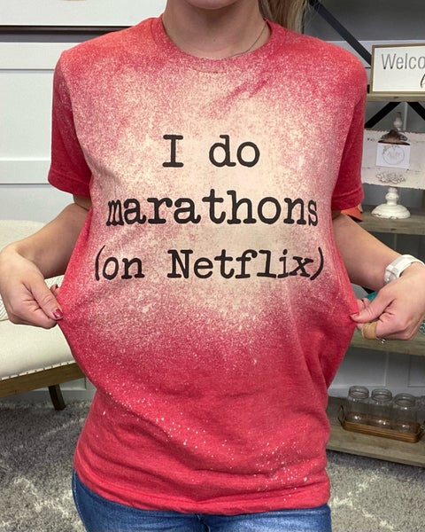 Netflix Marathon Tee