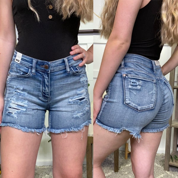 The Kirsten Judy Blue Shorts