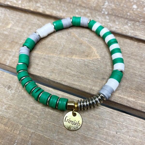 Kiss Me I'm Irish Erimish Bracelet
